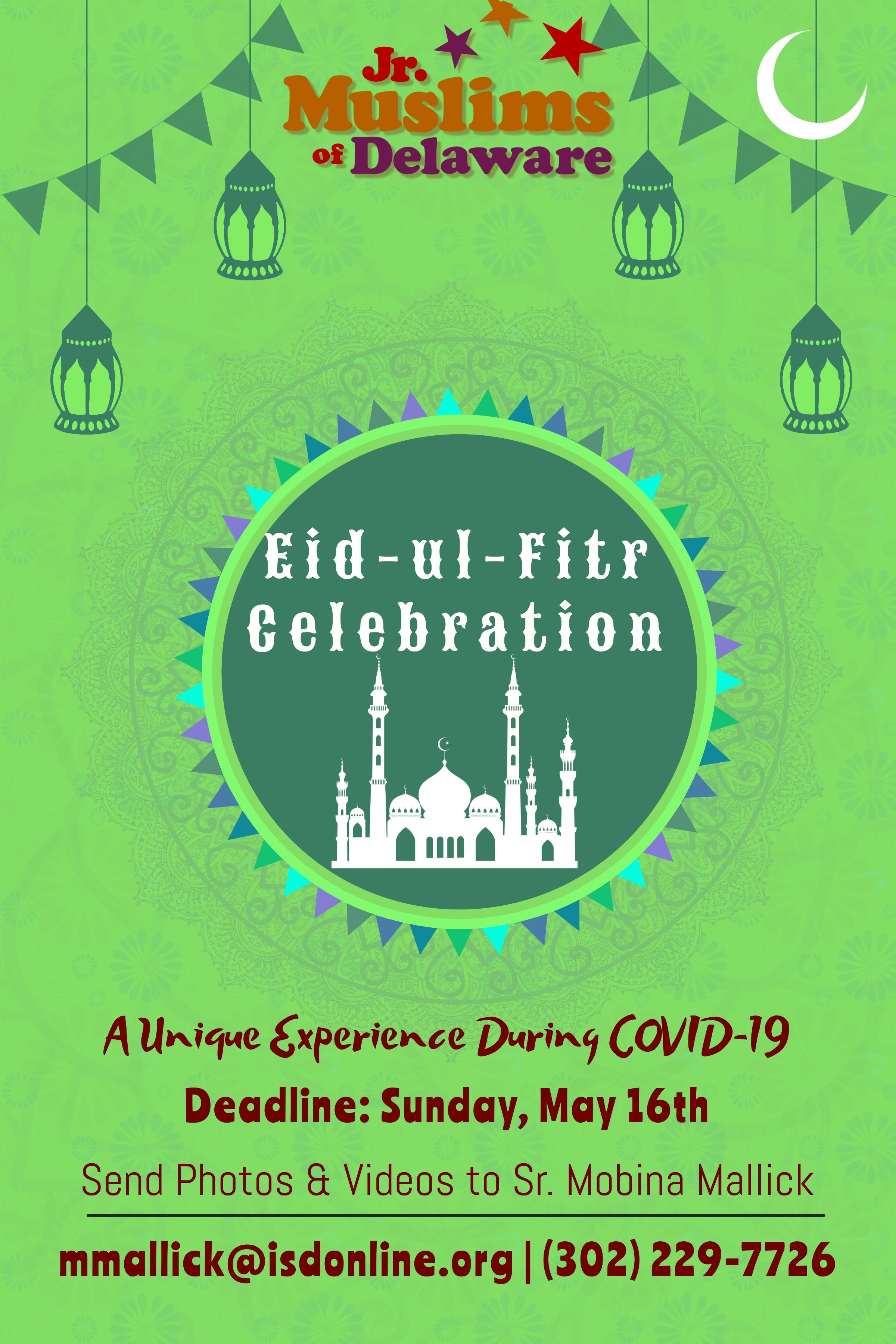 Junior Muslims Eid-ul-Fitr 2021 Celebration