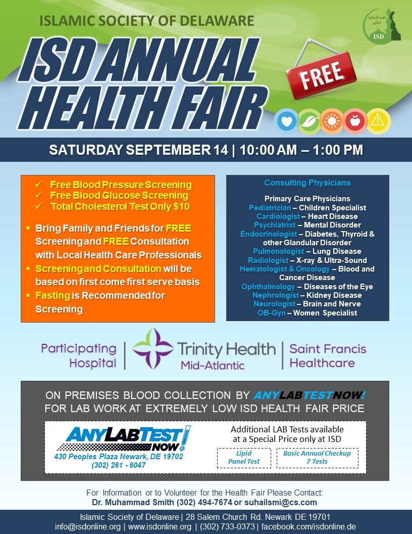 ISD Community Health Fair