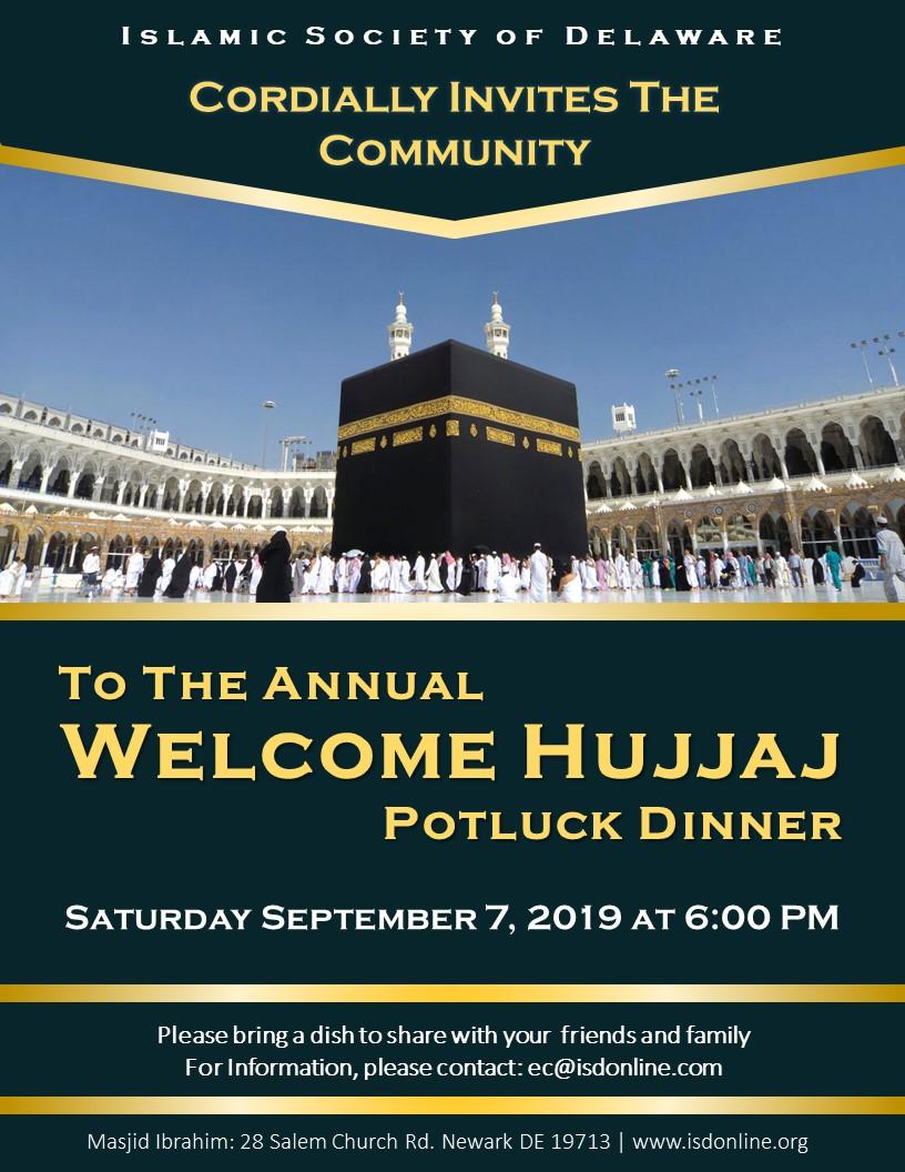Eid Celebration & Hujjaj Welcome Dinner