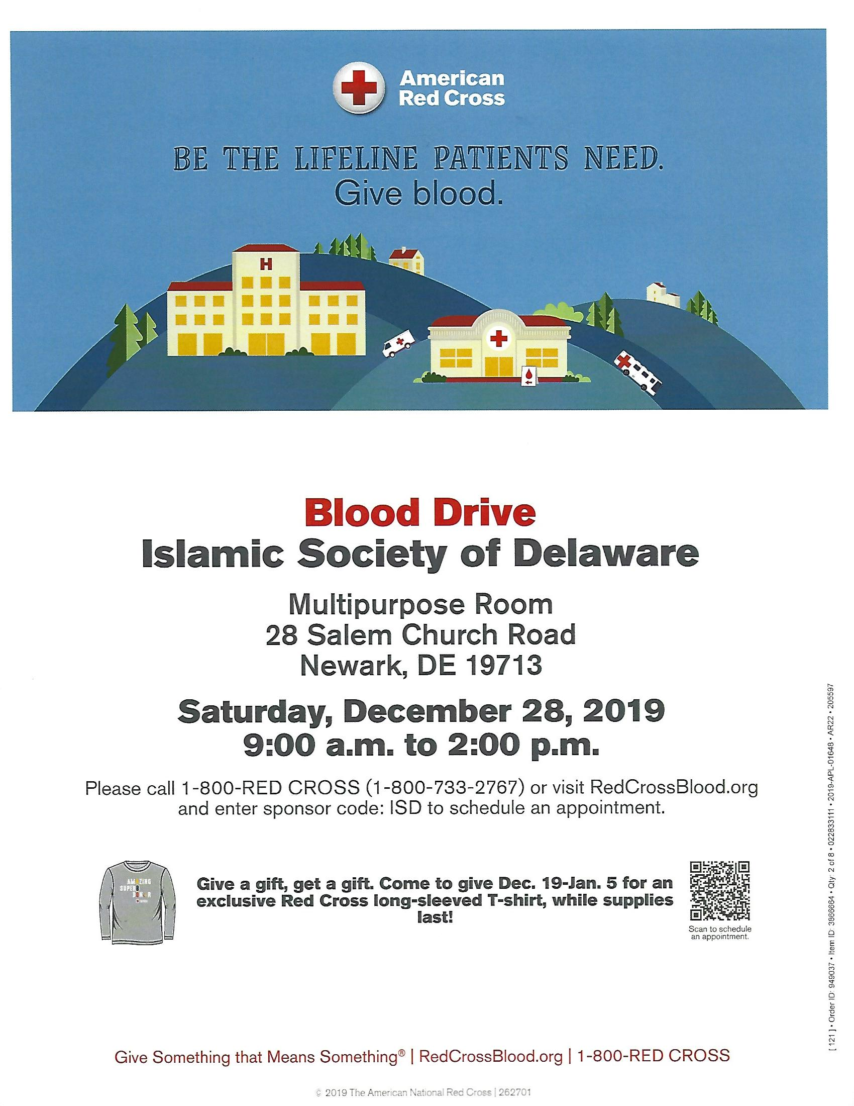 American Red Cross Blood Drive at ISD 2019