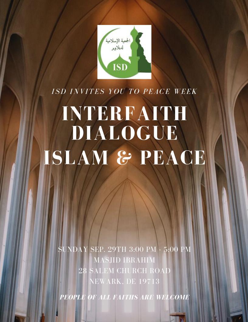 Islam & Peace - Interfaith Dialogue