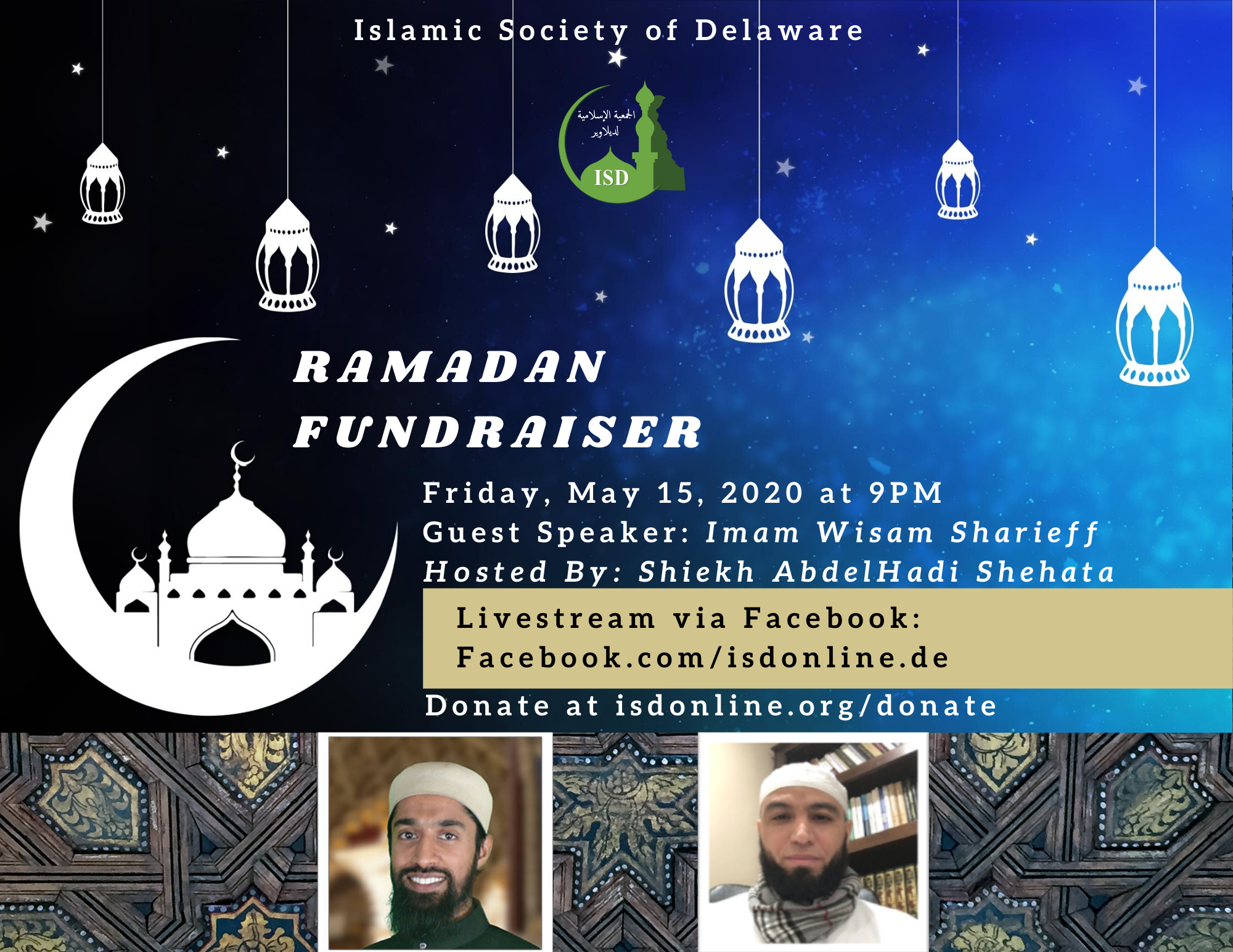 ISD Ramadan Virtual Fundraiser