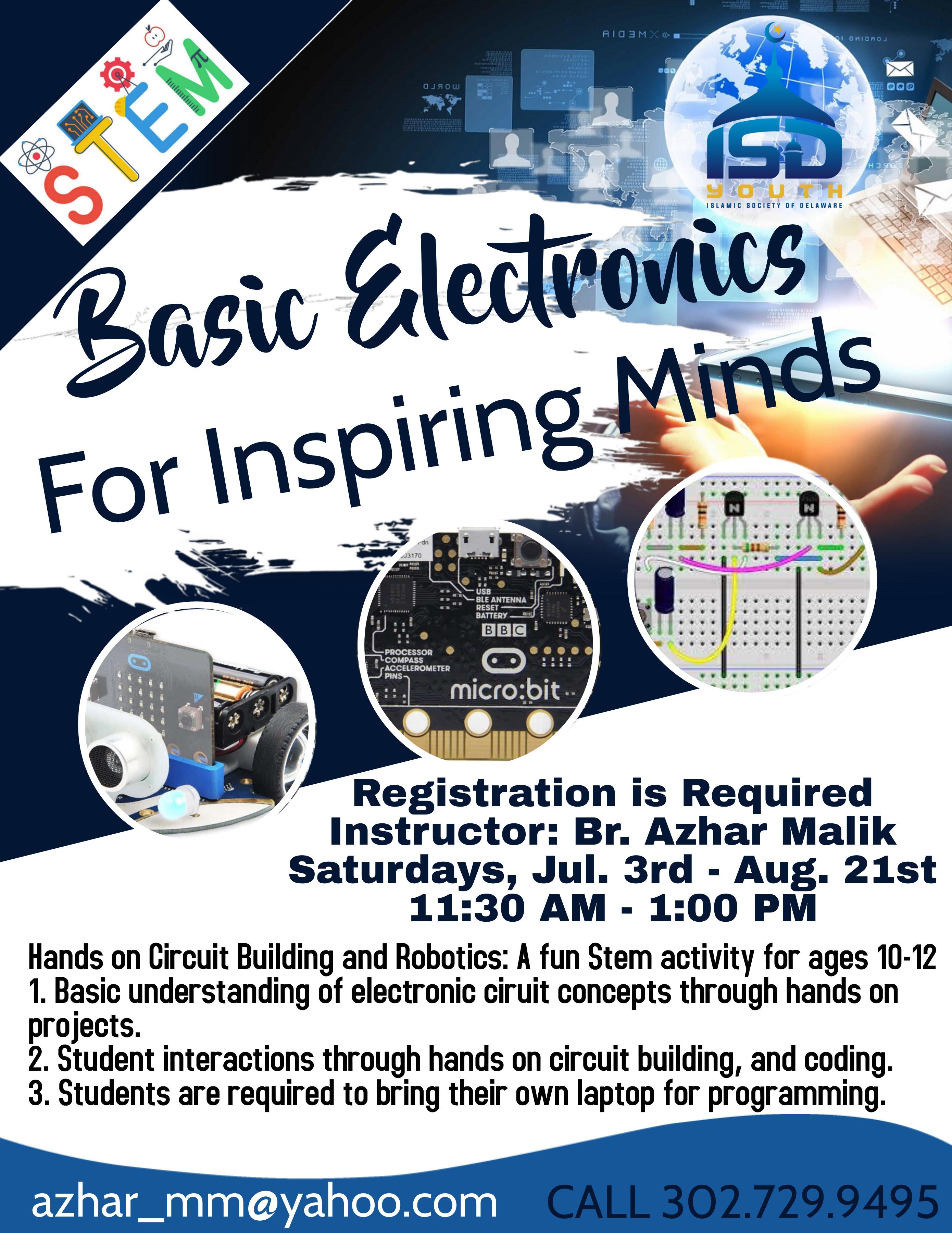 Basic Electronics For Inspiring Minds