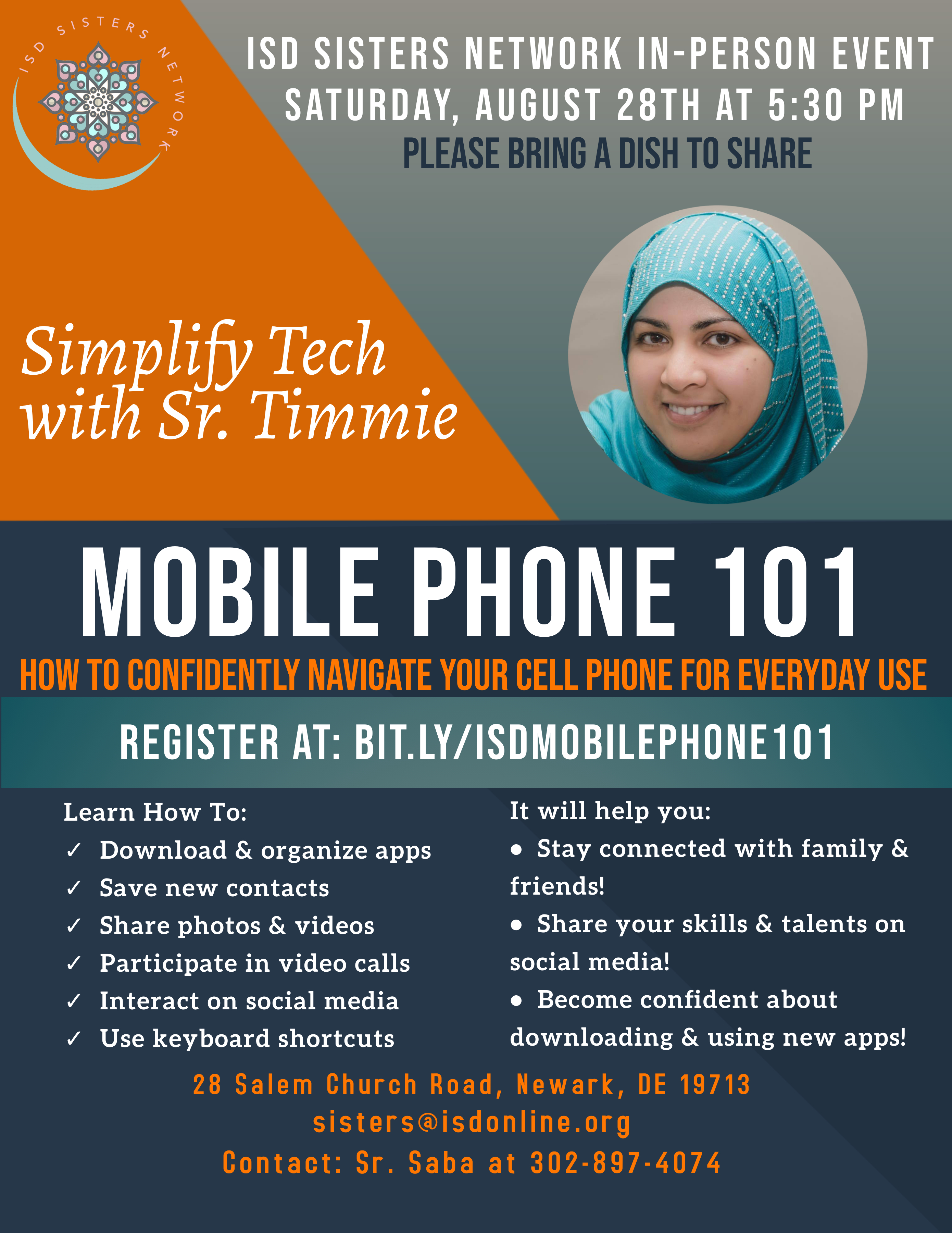 Simplifying Tech with Sr. Timmie