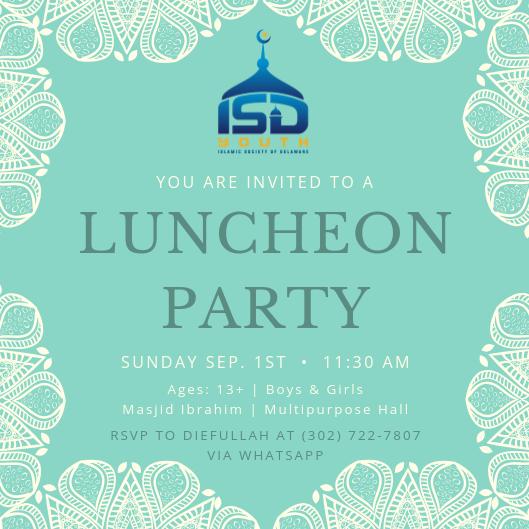 ISD Youth Luncheon
