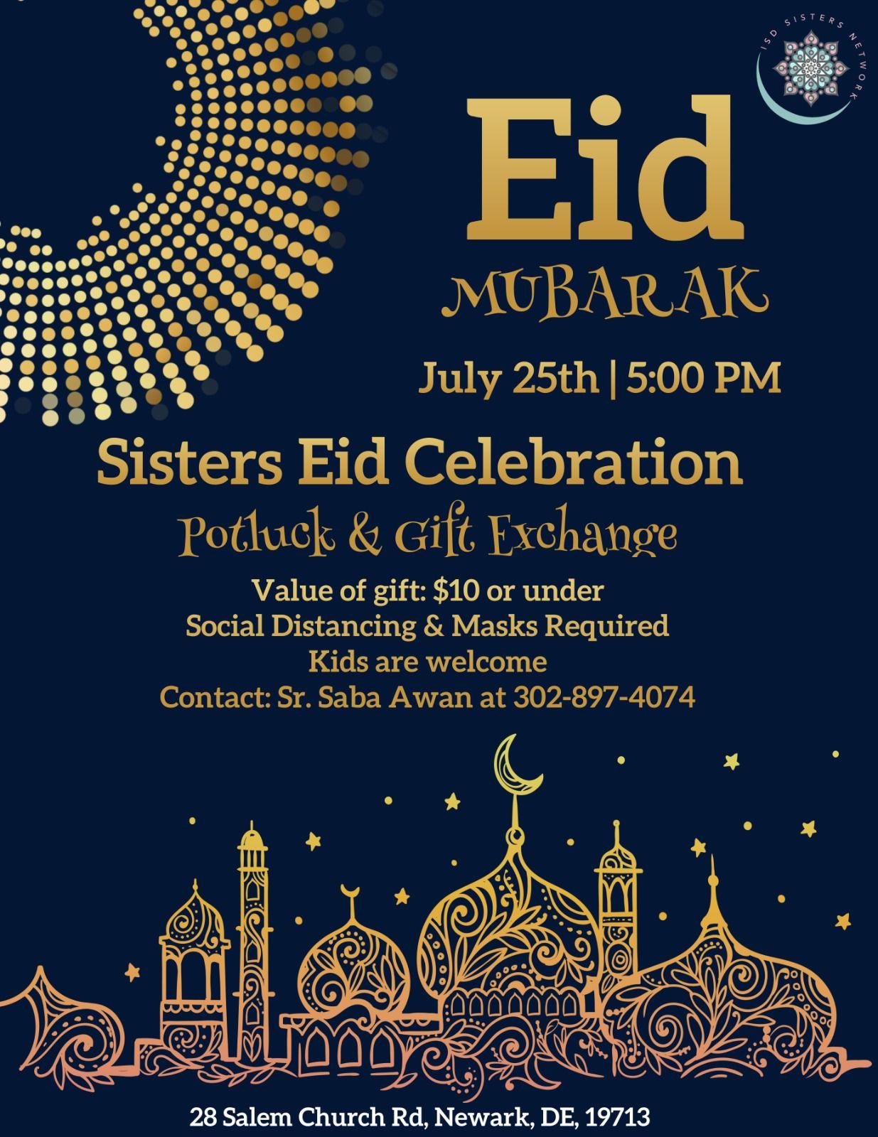 Sisters Eid Celebration