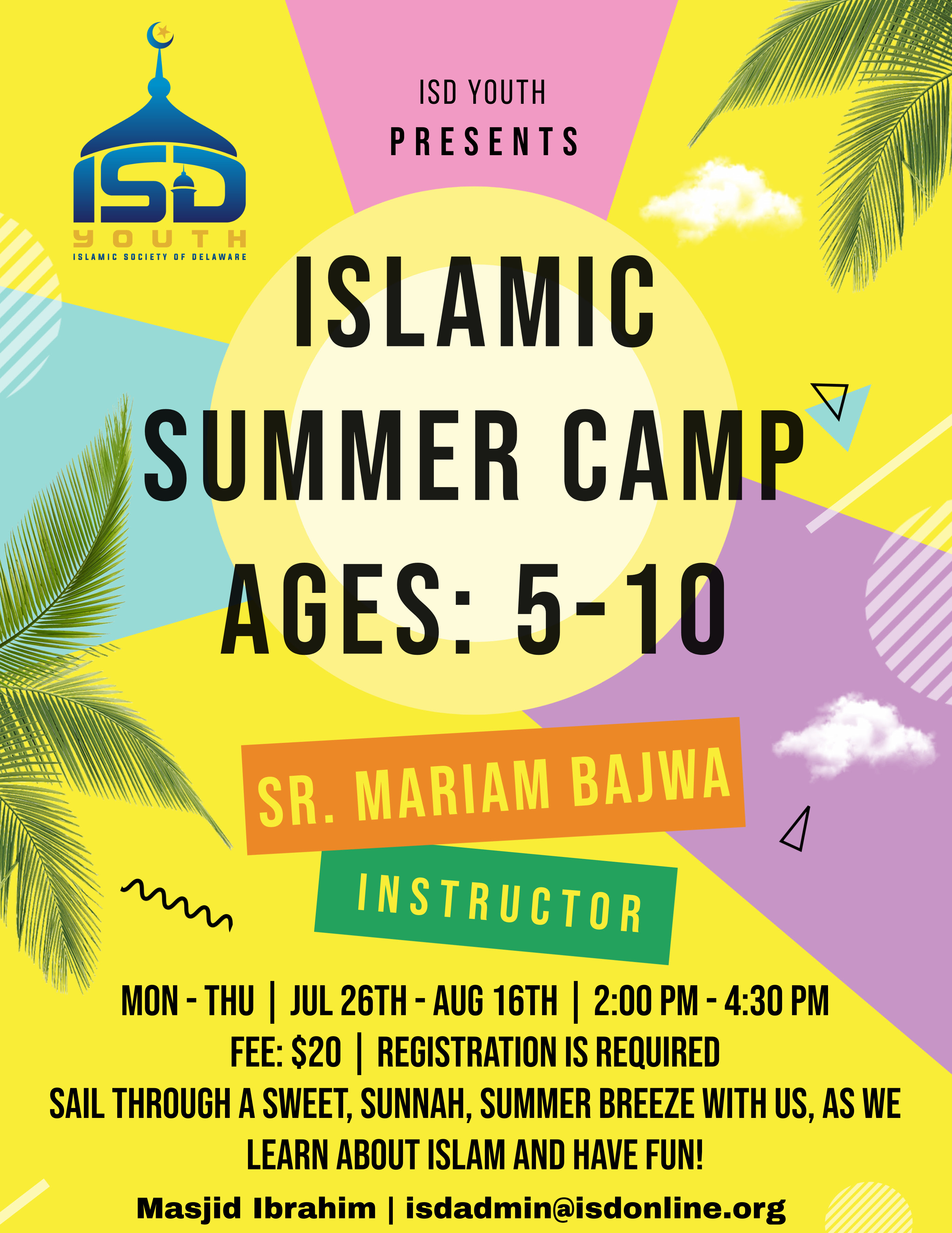 ISD Youth Educational Summer Camp