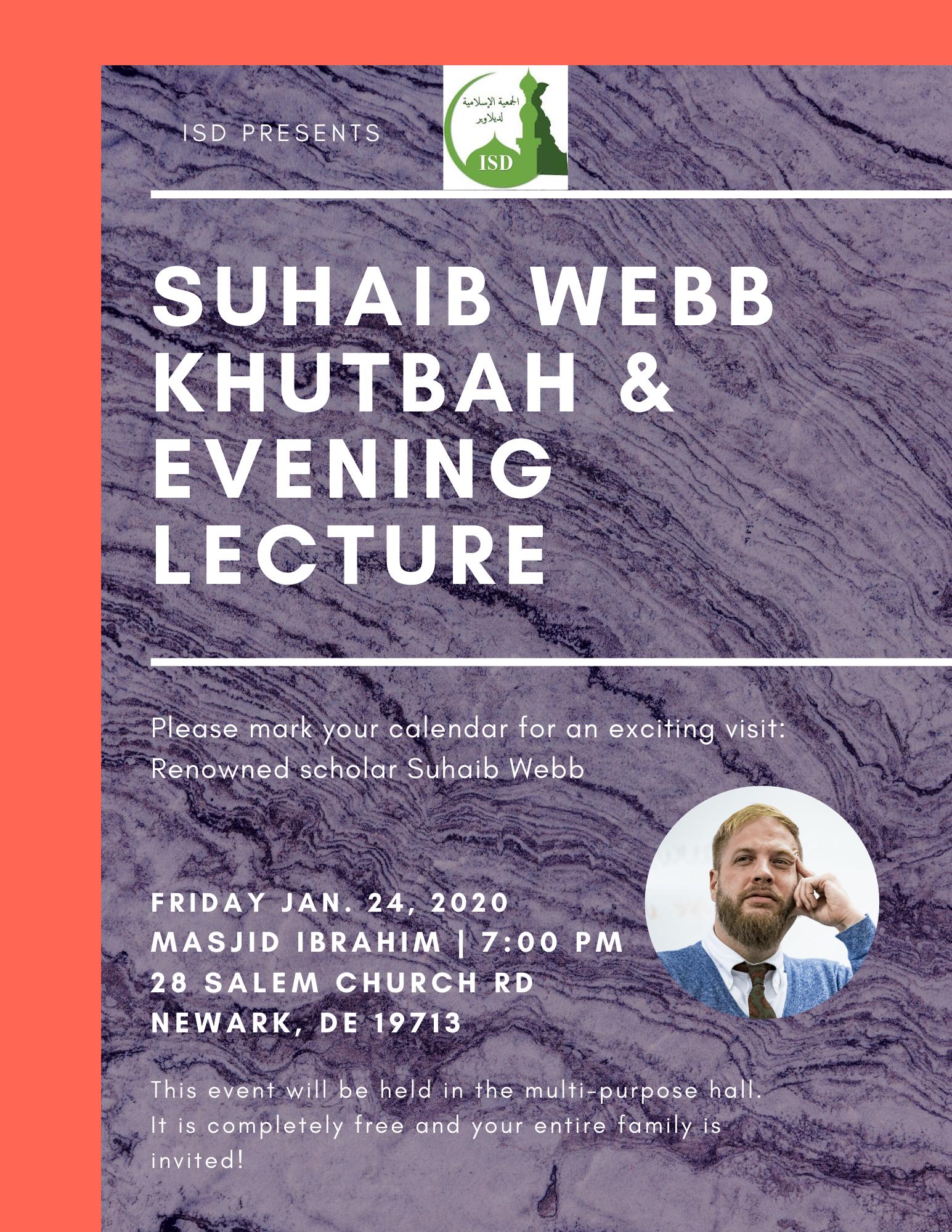 Imam Suhaib Webb at ISD