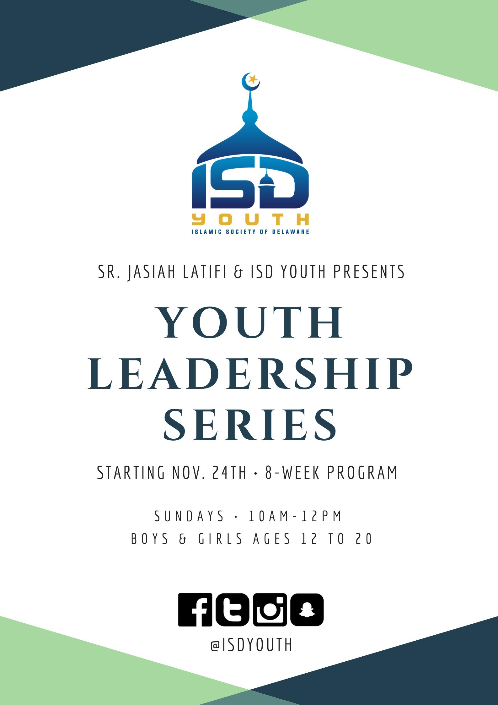ISD Youth Leadership Series